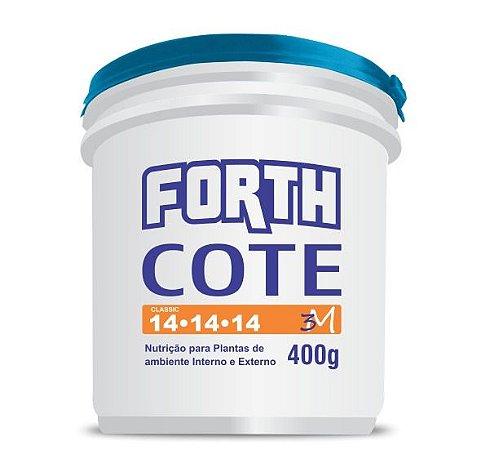 Fertilizante FORTH COTE 400g - 14-14-14 - Para Horticultura e Jardinagem