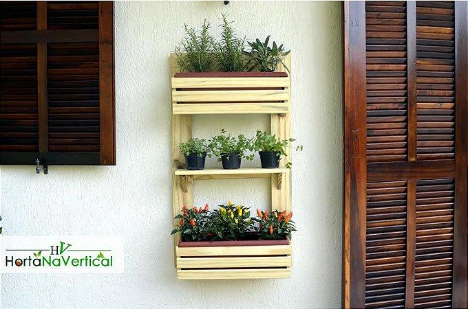 Painel Horta ou Jardim Vertical  - 3 níveis