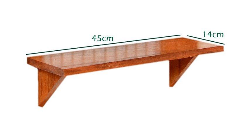 Prateleira para Painel Avulsa  (45cmx14cm) com parafusos