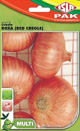 CEBOLA RED CREOLE ROXA - Semente para sua horta - Isla Multi Pack