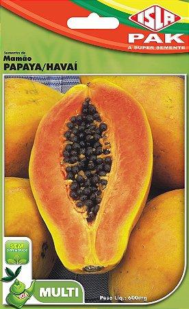 MAMAO PAPAIA HAWAII - Semente para sua horta - Isla Multi Pack