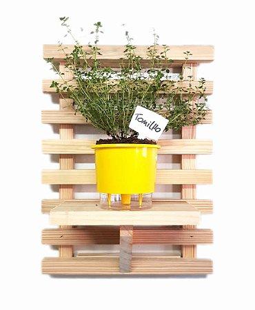 Horta Na Vertical SUPER MINI (45x30) - 1 Vaso Auto Irrigável pequeno (escolha a cor)