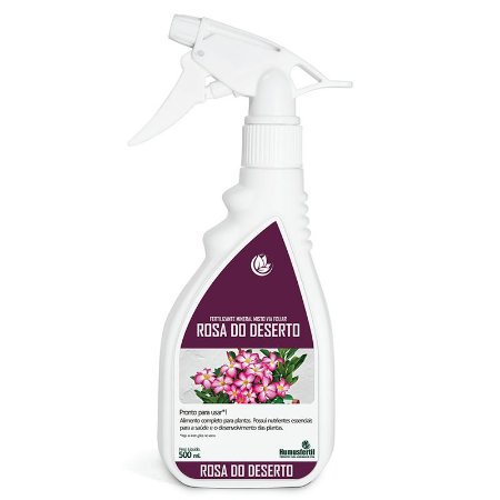 Fertilizante Liquido para Rosa do Deserto - Humus Fertil - 500ml