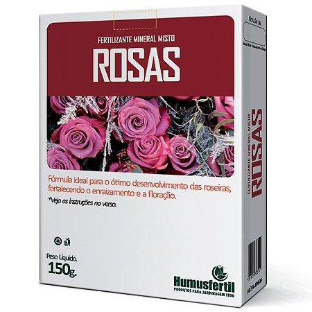 Fertilizante Mineral para Rosas - Humus Fertil - 150g