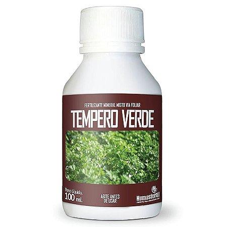 Fertilizante Liquido  para Tempero Verde - Humus Fertil - 100ml
