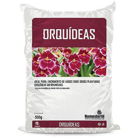 Substrato para Orquídeas - Humus Fertil - 500g