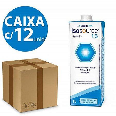 Isosource 1,5 KCal/ml - Kit com 12 Litros