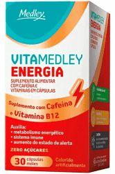 Vitamedley Energia 30cp