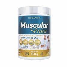 Muscular Senior Colageno +Semente de Uva 450g Stem