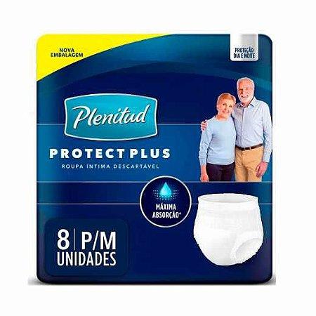 Roupa Íntima Plenitud Unissex protect Plus 8 unidades