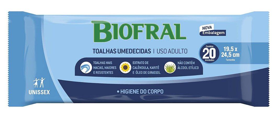 Toalhas Umedecidas Biofral