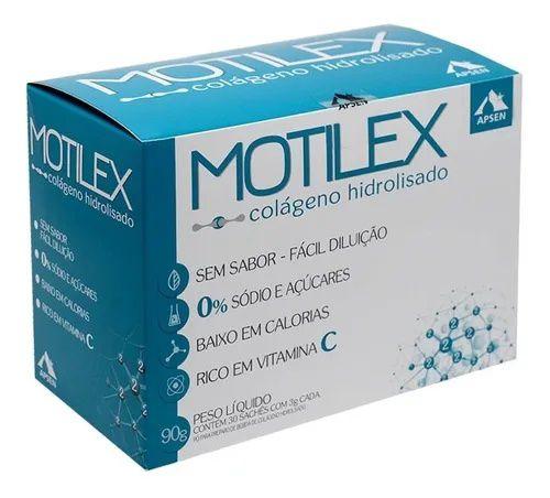Motilex Colágeno Hidrolisado 90g 30 saches Apsen