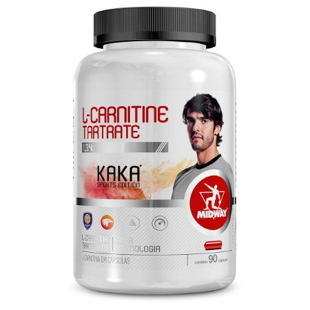 L-Carnitine Tartrate 90 cápsulas 1,34g Midway