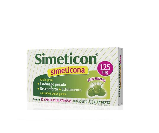 Simeticon 125Mg Kley Hertz