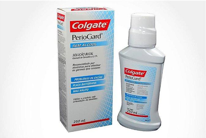 Periogard Solução Bucal Sem Álcool Clorexidina 0,12% 250ml  Colgate