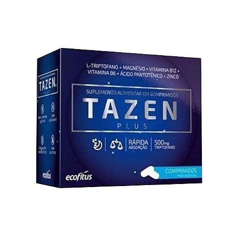 Tazen Plus L- Triptofano 500mg 60 CP