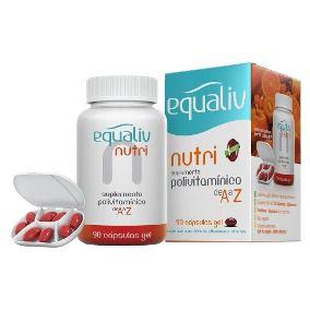 Equaliv Nutri de A a Z 90 Cápsulas Gel