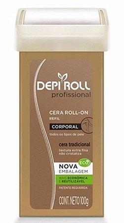 Cera Depilatória Roll-On Depi Roll Profissional