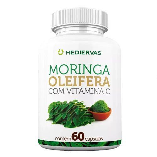 Moringa Olefeíra com 60 cápsulas Mediervas