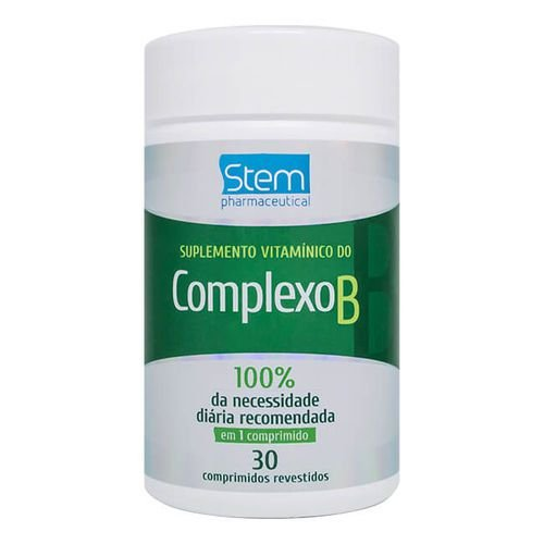 Complexo B  30 comprimidos Stem