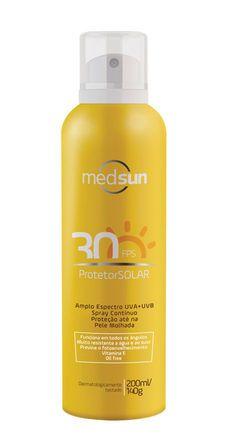 Protetor Solar Spray FPS 50 Medsun