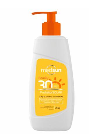 Protetor Solar Family Fator 30 350g Medsun