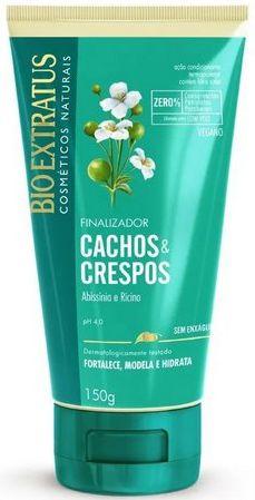 Cachos e Crespos Finalizador Abíssinia e Rícino VEGANO 150G  Bio Extratus