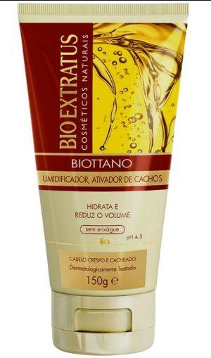 Biottano Umidificador, Ativador de Cachos  150G  Bio Extratus