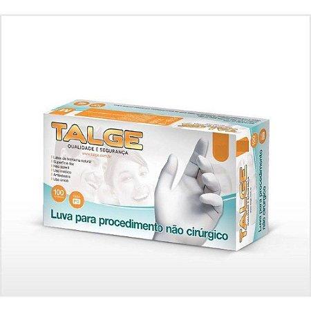 Luvas Latex Talge G sem  pó p/Procedimentos Não Cirúrgicos