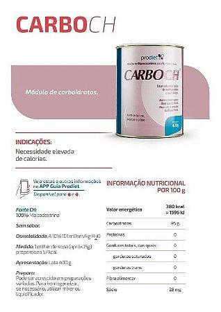 CarboCH Módulo de Oligossacarídeos para Nutrição Enteral e Oral em Pó 400g