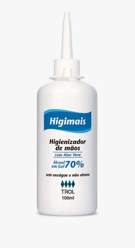 Álcool Gel 70% 100ml HIGIMAIS