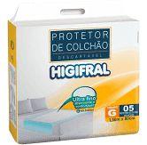 lençol protetor de colchão descartável - higifral