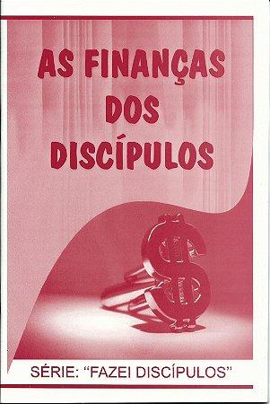 As finanças dos discípulos