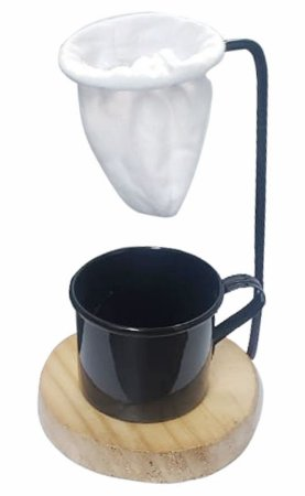 COADOR DE CAFÉ INDIVIDUAL COM CANECA - UTN007
