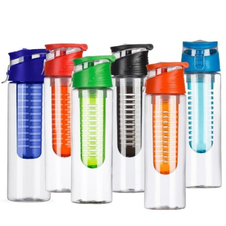 SQUEEZE PLÁSTICO 700ML C/ INFUSOR - SQ012