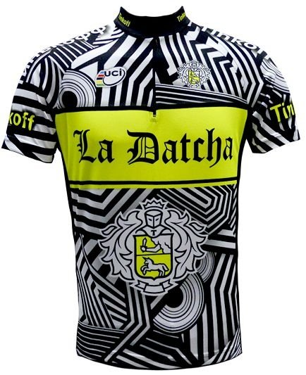 Camisa de ciclismo Tinkoff La Datcha - ERT Cycle Sport