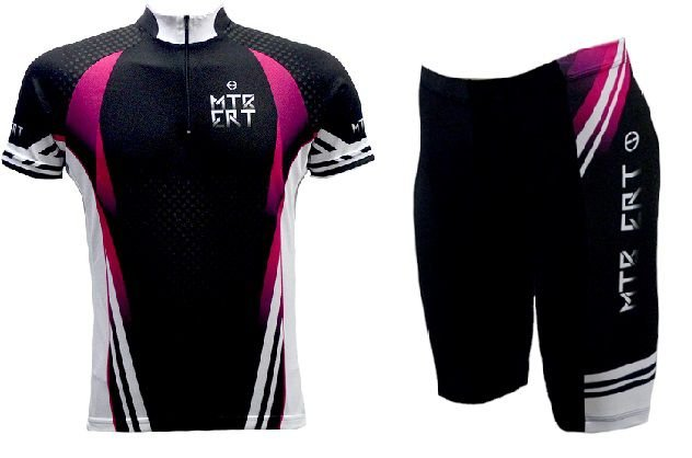 Conjunto de ciclismo feminino Mtb - ERT Cycle Sport - Roupas para ... 097246a48e962