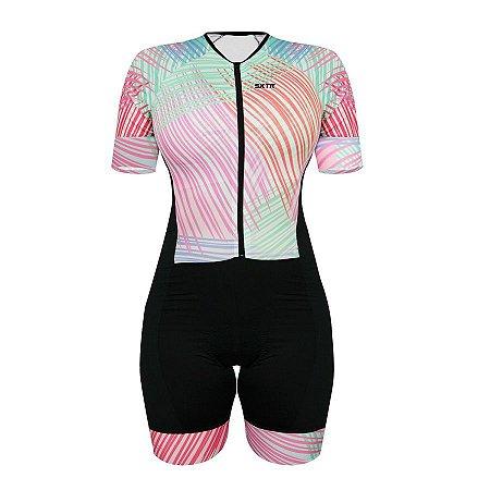 Macaquinho de ciclismo feminino SportXtreme Comfort Artiste