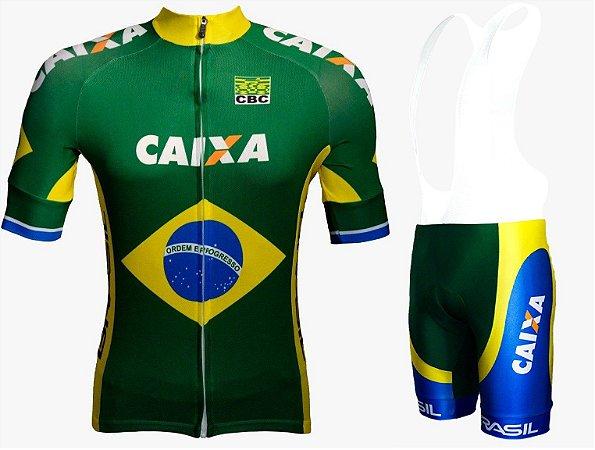 Conjunto de ciclismo Elite Seleção Brasileira - ERT Cycle Sport
