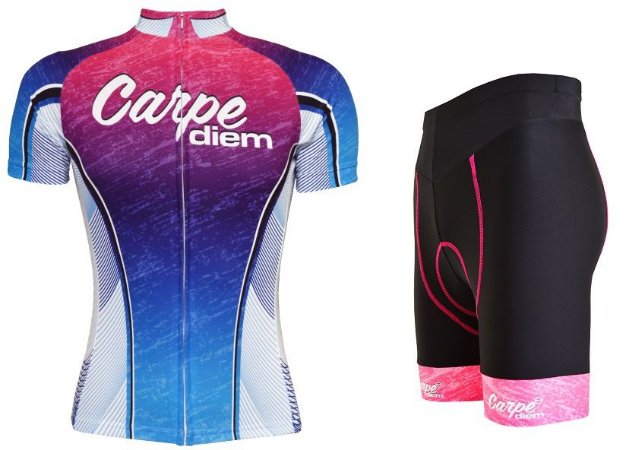 Conjunto de ciclismo feminino Advanced Carpe Diem - ERT Cycle Sport