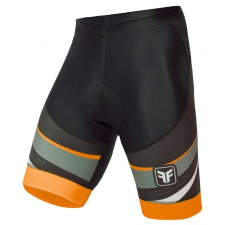 Bermuda de ciclismo Spy laranja - Free Force
