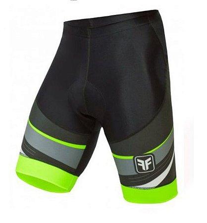 Bermuda de ciclismo Spy verde - Free Force