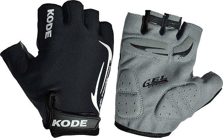 Luva de ciclismo Gel Protection Preto - Kode