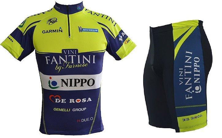 Conjunto de ciclismo Vini Fantini - ERT