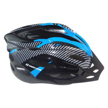 Capacete de ciclismo MV262 Azul/Preto - High One