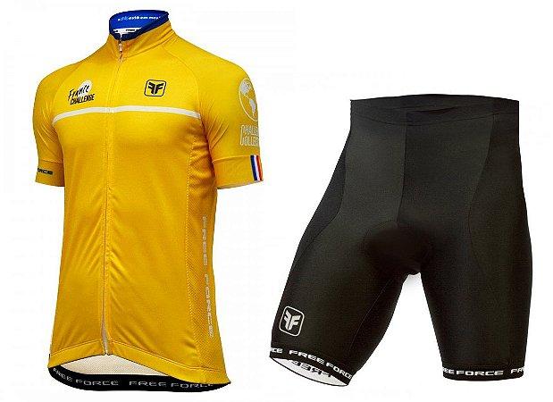Conjunto de ciclismo Tour de France - Free Force