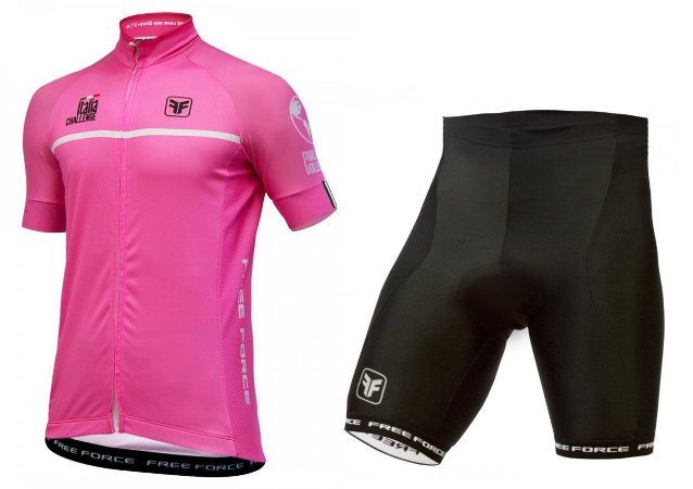 Conjunto de ciclismo Giro d'Italia - Free Force