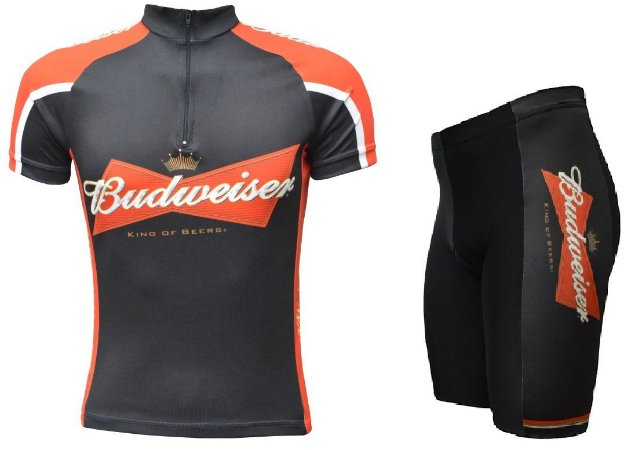 Conjunto de ciclismo Budweiser - ERT