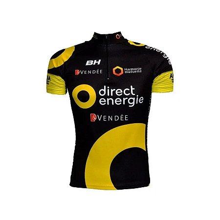 Camisa de ciclismo Equipe Direct Energie - ERT
