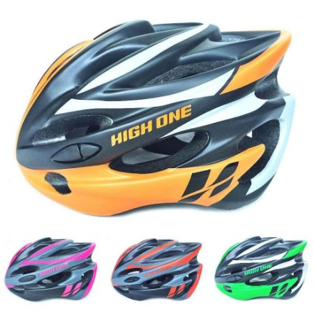 Capacete de ciclismo c/ led Volcano - High One
